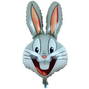 Balão Coelho Sorridente Foil