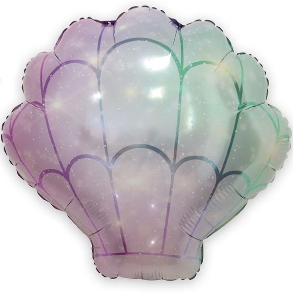 Balão Foil Concha, 54 cm