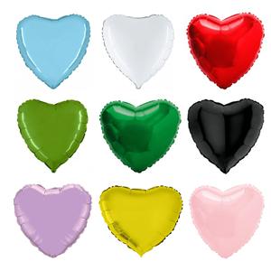 Balão Foil Coração Metalizado  23 cm