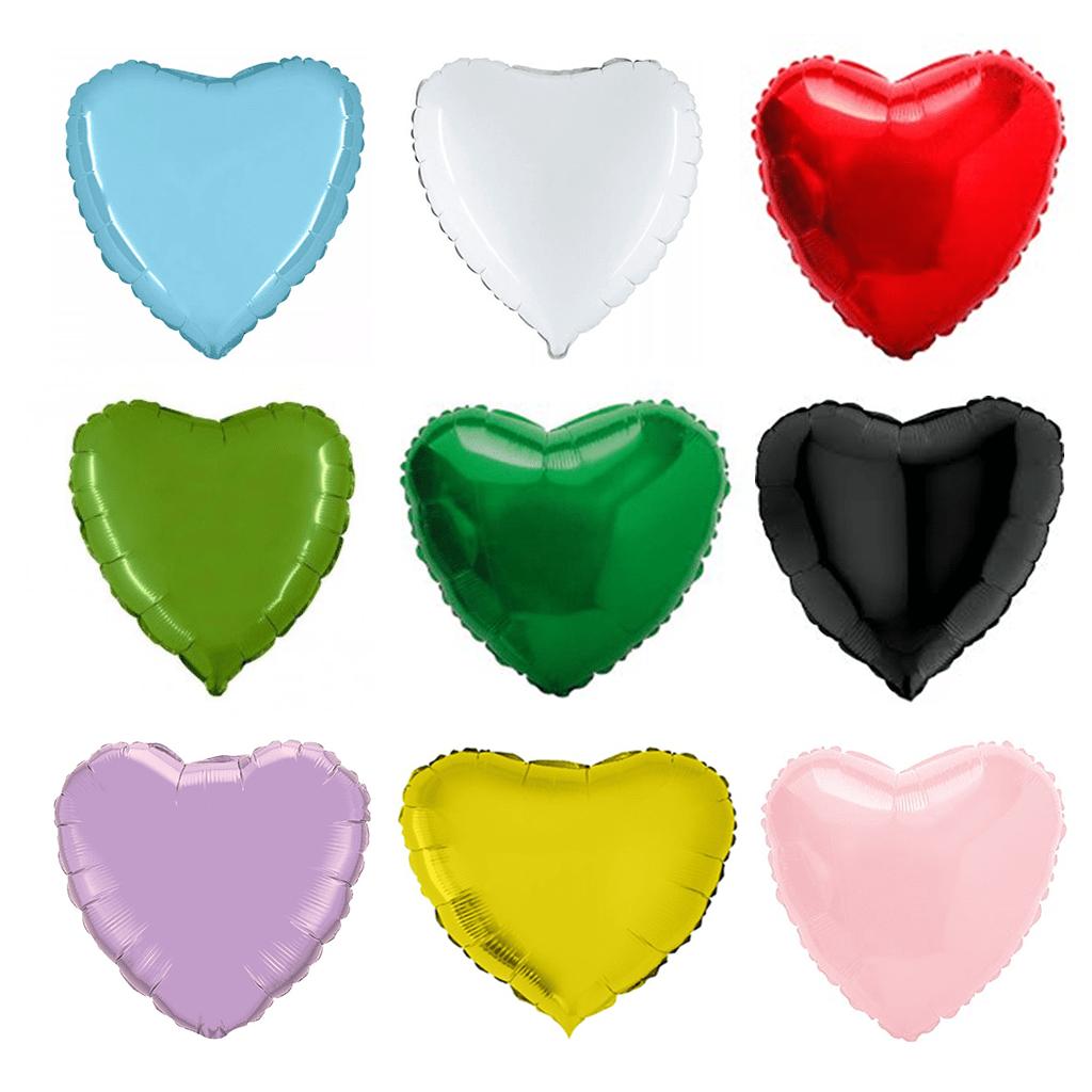 Balão Foil Coração Metalizado  46 cm