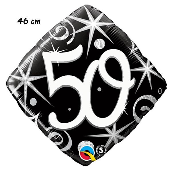 Balão Foil Diamond 50 Elegant Sparkles