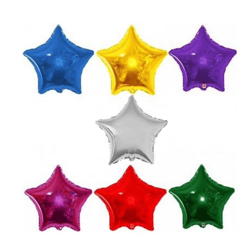 Balão Foil Estrela Metalizado 79 Cm