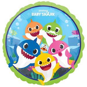 Balão Foil Família Baby Shark
