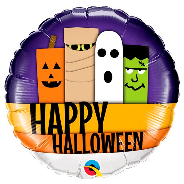 Balão Foil Happy Halloween
