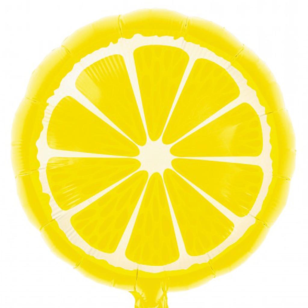 Balão Foil Limão, 46 Cm