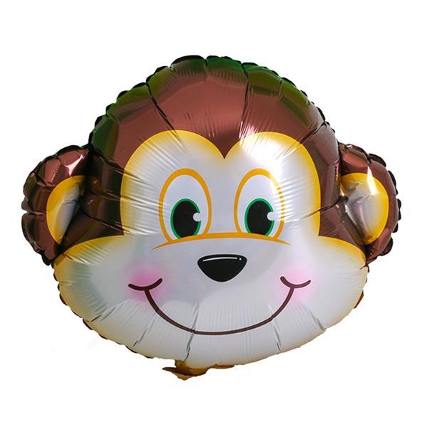 Balão Foil Macaco Sorridente