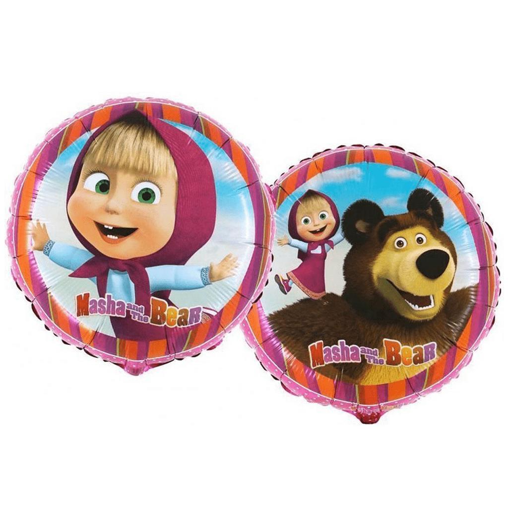 Balão Foil Masha e o Urso, 46 cm