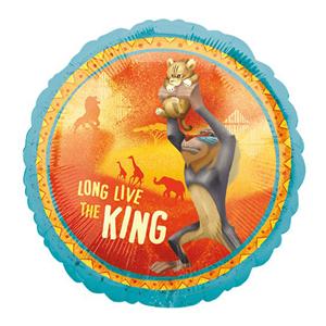 Balão Foil Rei Leão, 43 Cm.