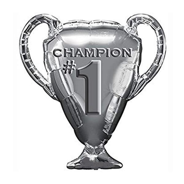 Balão Foil Troféu Metalizado