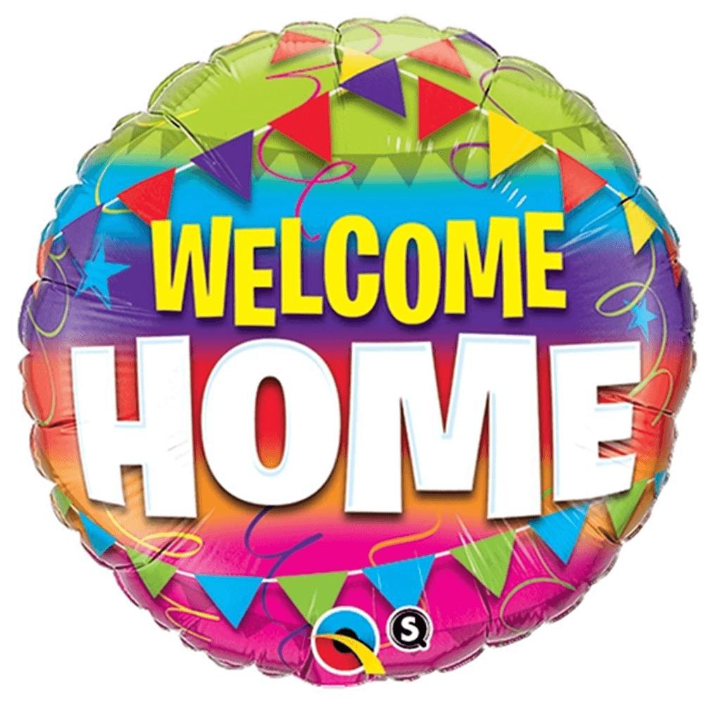 Balão Foil Welcome Home, 46 cm
