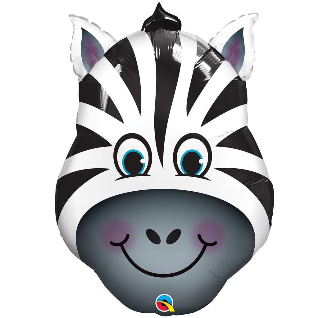 Balão Foil Zebra Shape