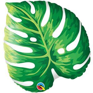 Balão Folha Tropical Foil, 53 cm