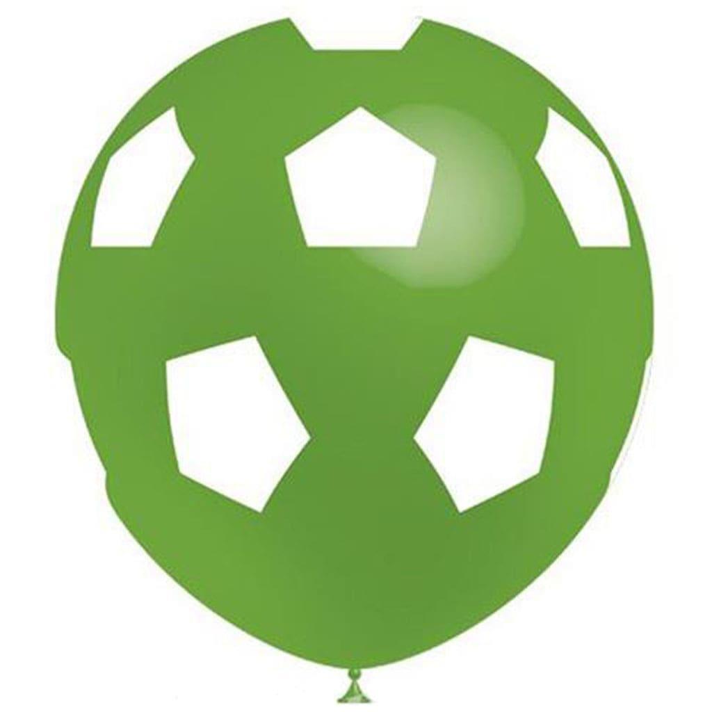 Balão Futebol Verde, 8 unid.