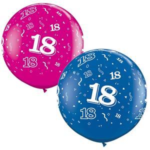 Balão Gigante 18 Anos, 91 cm