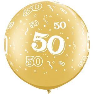 Balão Gigante 50 Anos, 91 cm
