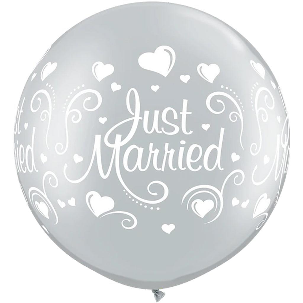 Balão Gigante Just Married, 91 cm