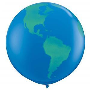 Balão Gigante Planeta Terra, 90 cm