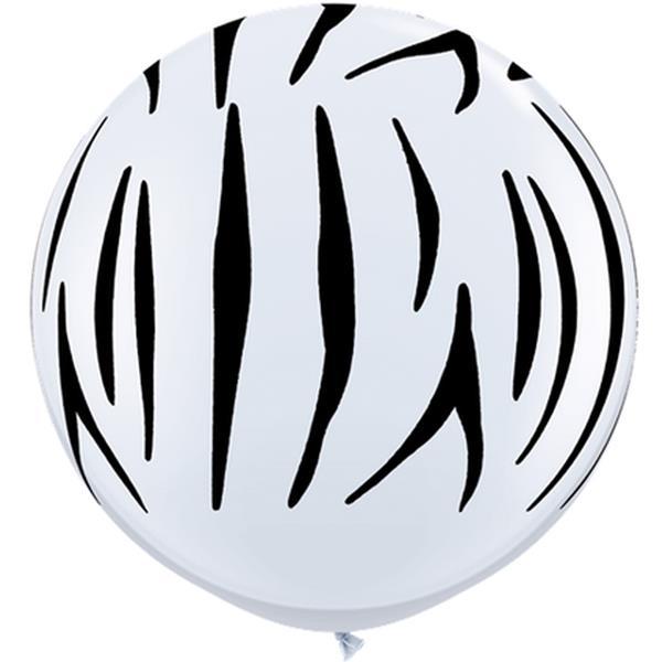 Balão Gigante Zebra, 91 cm