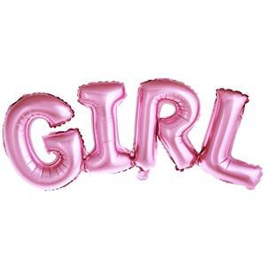 Balão Girl Foil, 74 x 33 cm
