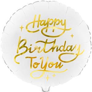 Balão Happy Birthday To You Foil, 35 cm