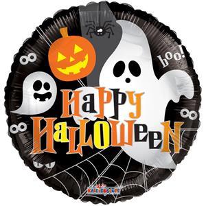 Balão Happy Halloween Foil, 45 cm