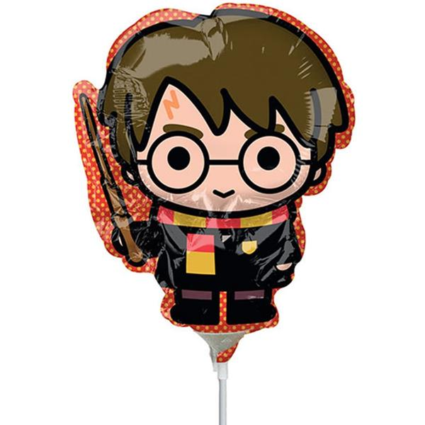 Balão Harry Potter Chibi Mini Shape Foil, 35 cm