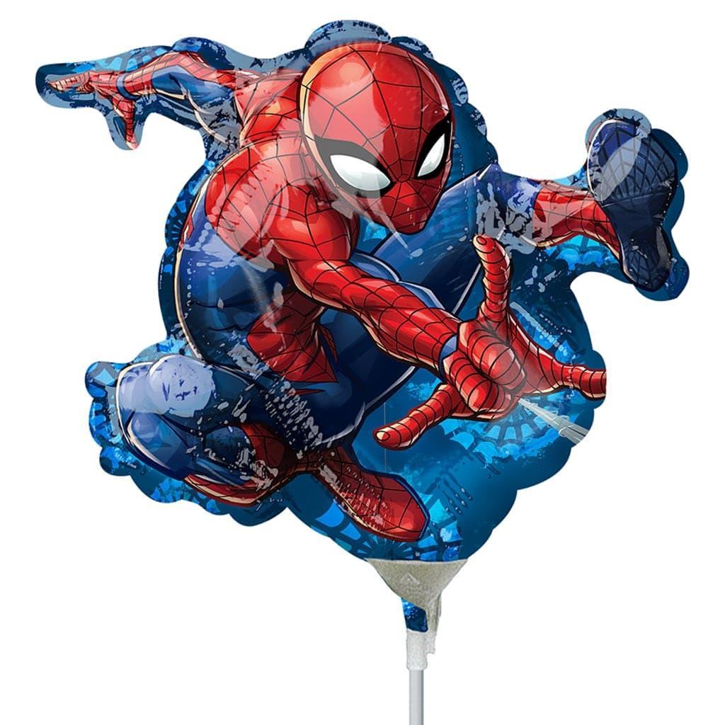 Balão Homem Aranha Mini Shape Foil, 30 cm