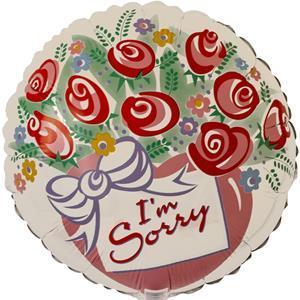 Balão I´m Sorry Foil, 46 cm