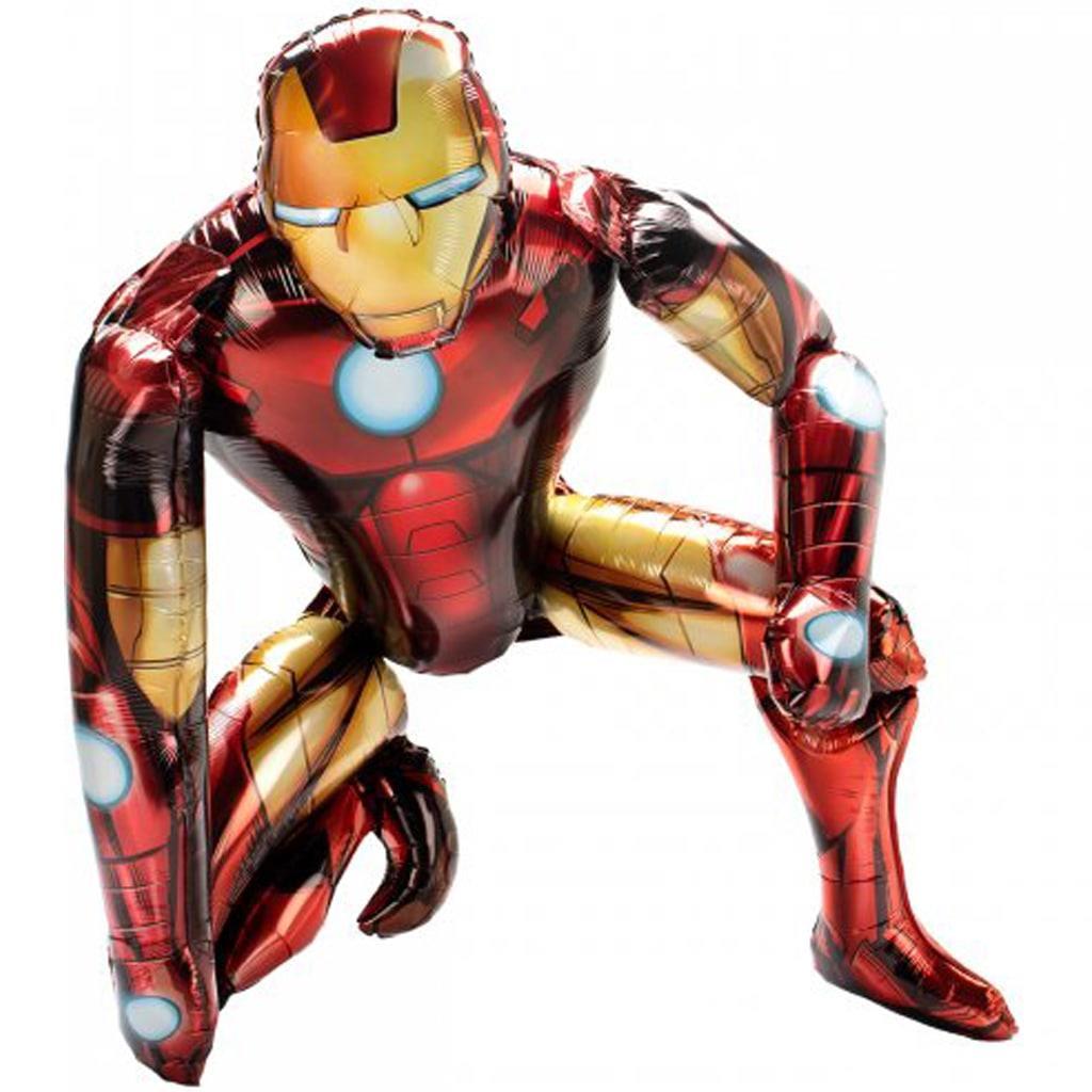 Balão Iron Man AirWalker, 93 cm