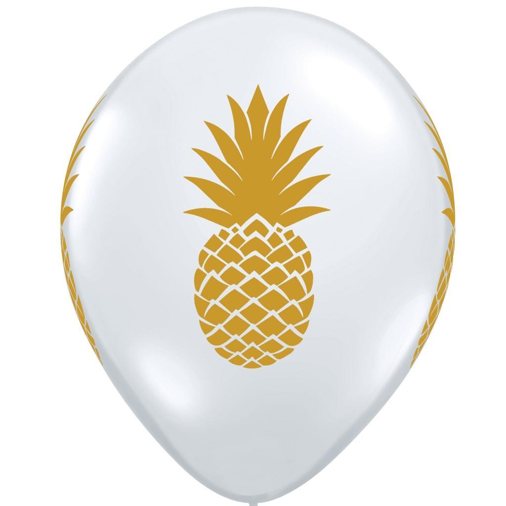 Balão Latex Ananás, 28 Cm