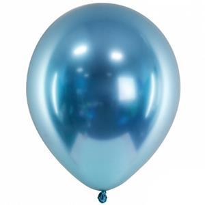 Balão Látex Cromado Azul