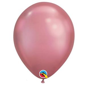 Balão Látex Cromado Malva