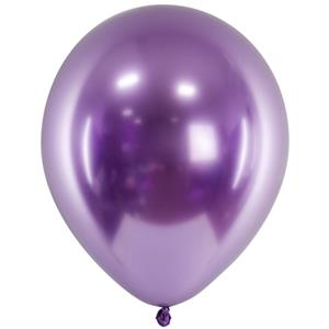 Balão Látex Cromado Roxo