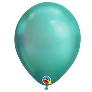 Balão Látex Cromado Verde