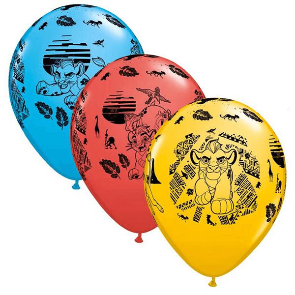 Balão Látex Guarda do Leão, 30 cm, Sortido, UN