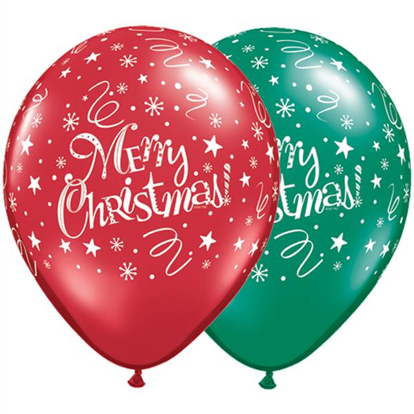Balão Látex Merry Christmas UN