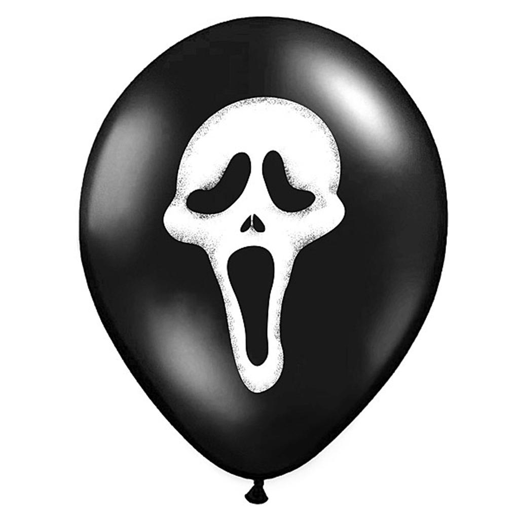 Balão Latéx Scream 6, Unid.