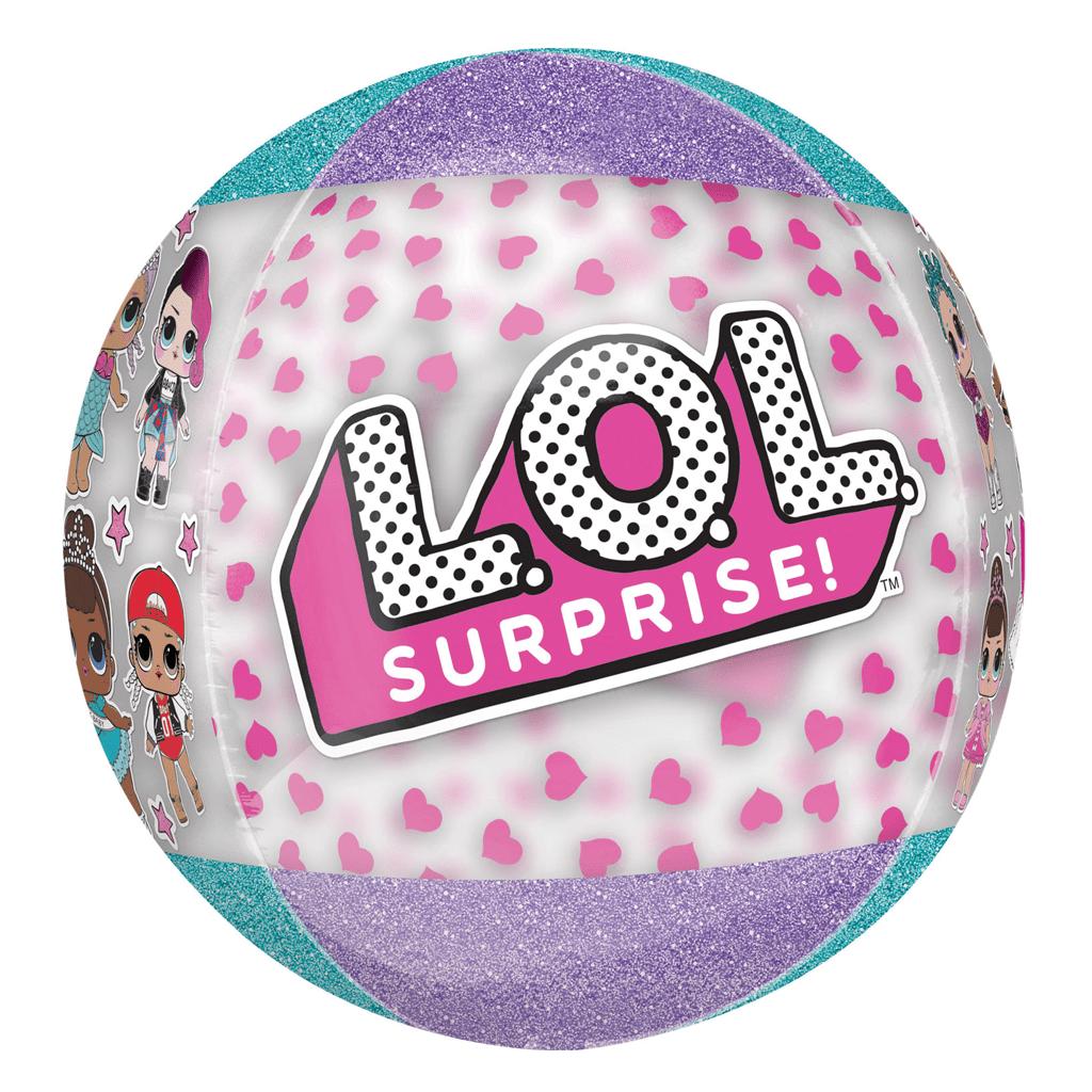 Balão LOL Surprise Orbz