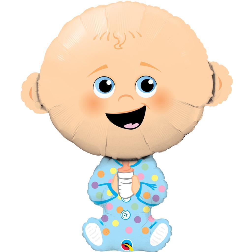 Balão Menino Bebé Foil, 35 cm