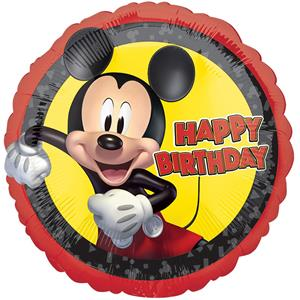 Balão Mickey Mouse Foil, 43 cm