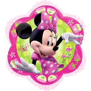 Balão Minnie Flor Foil, 38 cm