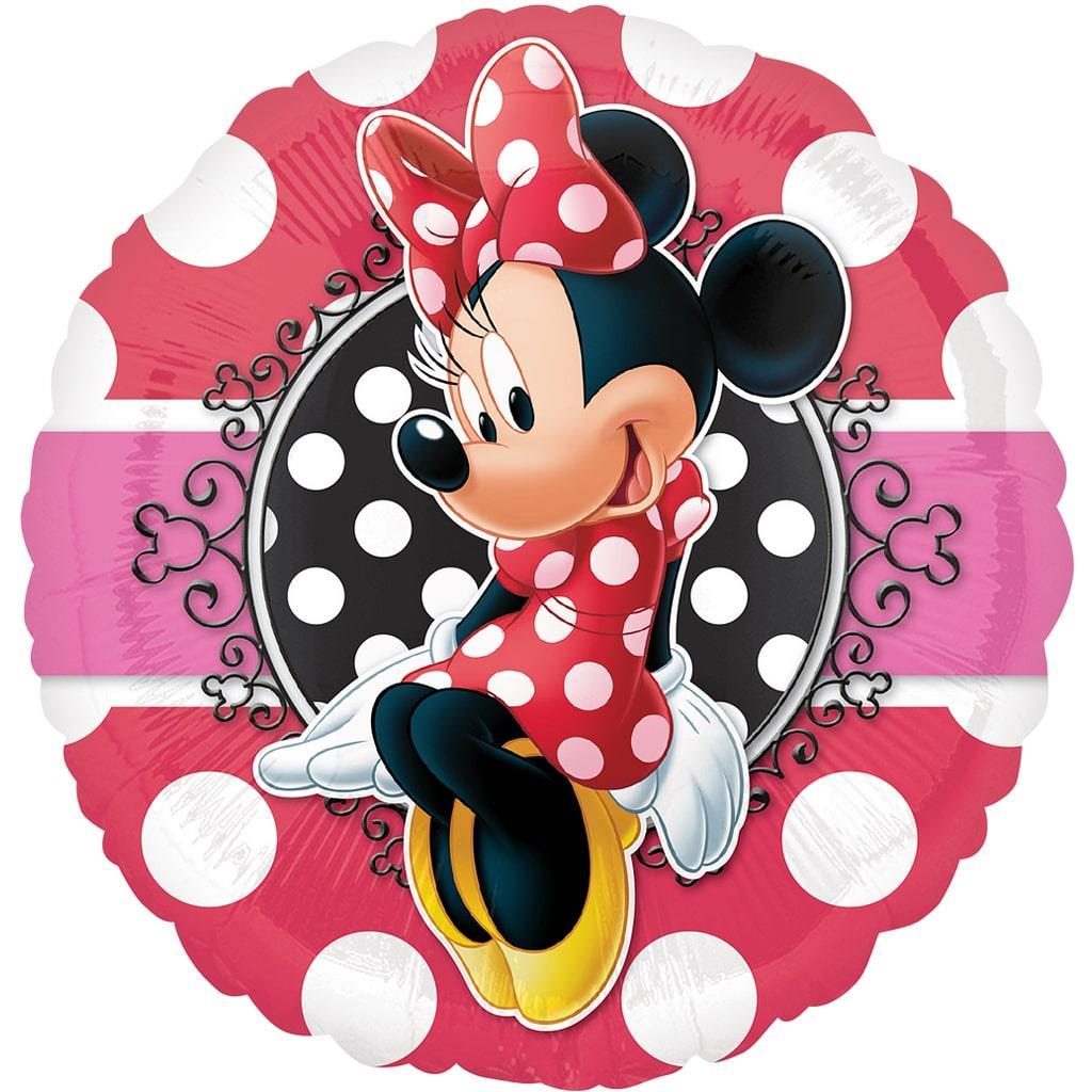 Balão Minnie Mouse Foil, 43 cm