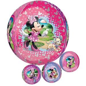 Balão Minnie Mouse Orbz, 40 cm