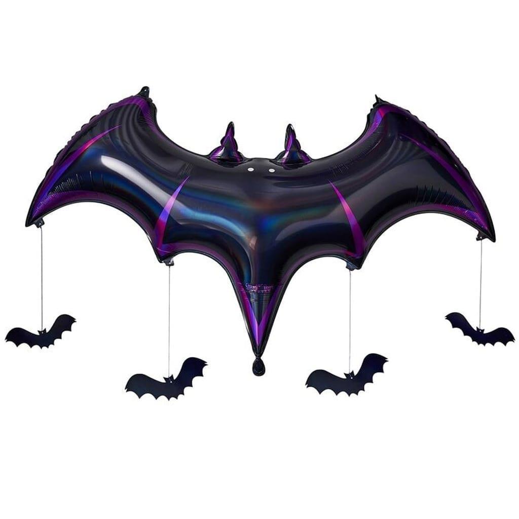 Balão Morcego Iridescente, 130 cm