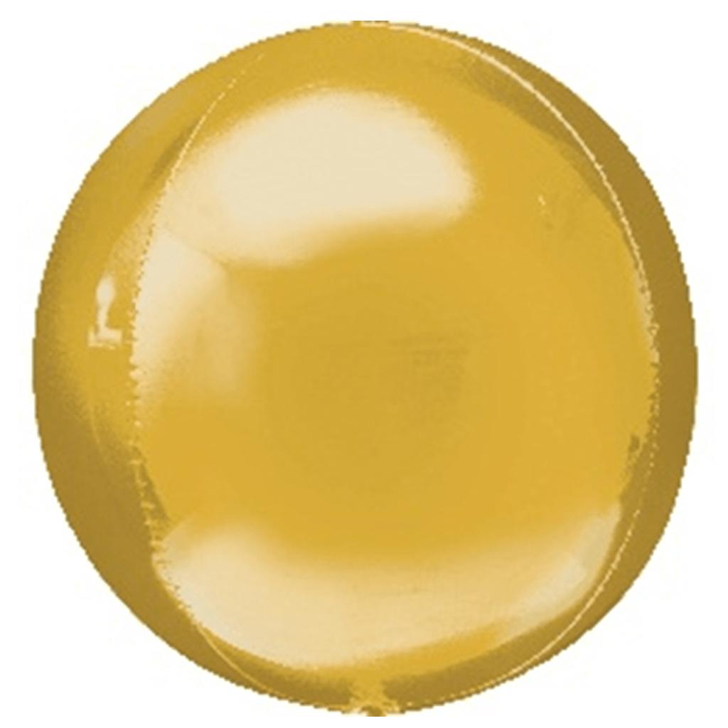 Balão Orbz, Dourado