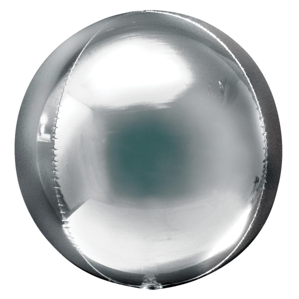 Balão Orbz, Prateado
