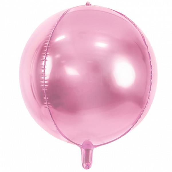 Balão Orbz Rosa, 40 cm