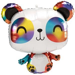 Balão Panda Colorido Super Shape, 60 cm