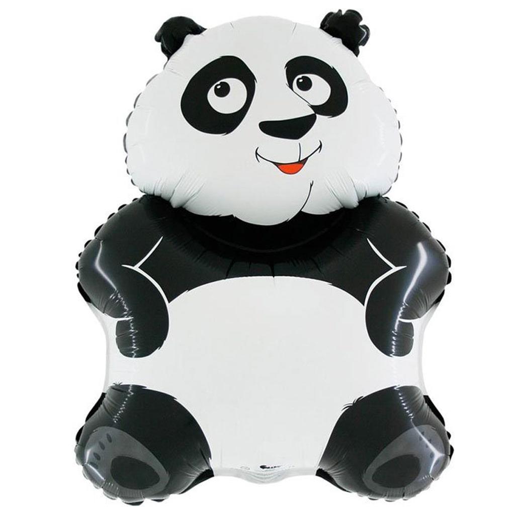 Balão Panda SuperShape, 81 cm