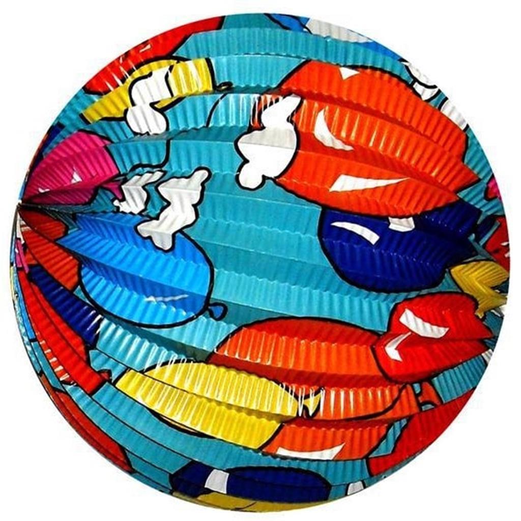 Balão Papel com balões 25 cm